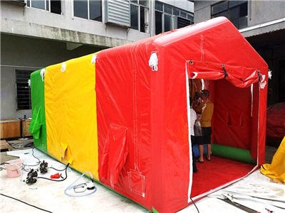 new products innovative product easy set up inflatable shower tent set BY-IT-070